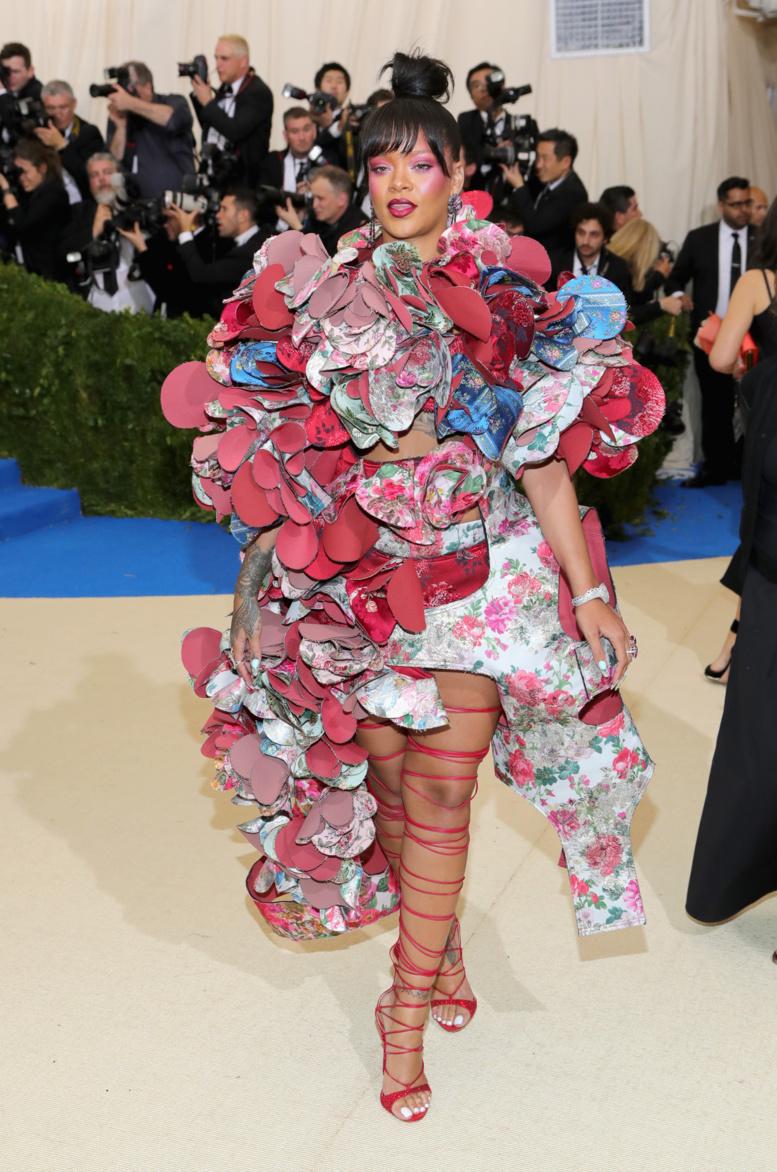 La robe de Rihanna au Met Gala 2017 a éclipsé toutes les autres