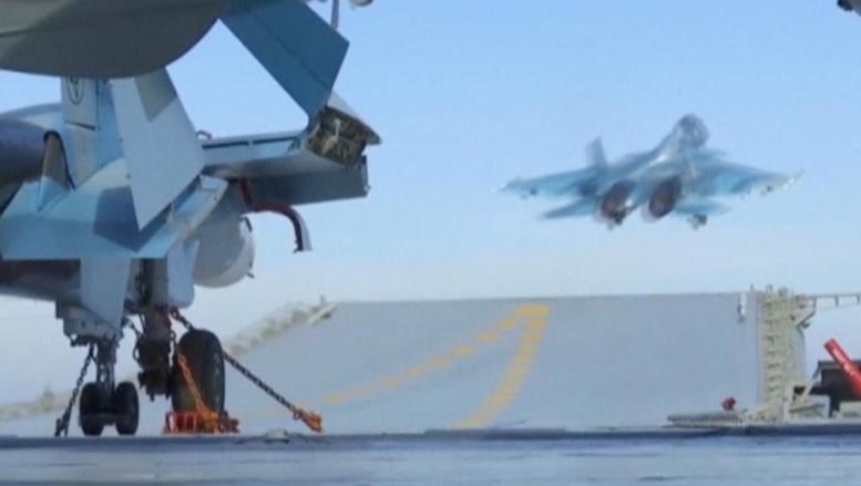 Syrie: la Russie suspend son activité aérienne
