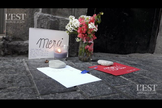 Besançon: marche blanche en hommage à la mémoire de feu Mamadou-Lamine Diédhiou