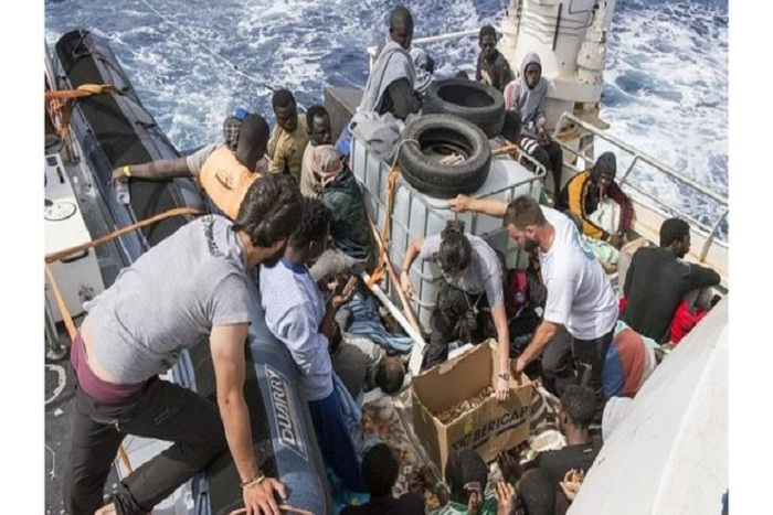 Méditerranée : 6000 migrants secourus en deux jours