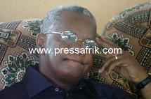 Le chef de file de l'URD, Djibo Laïty Ka