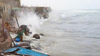 Guet-Ndar en danger: Mansour Faye appelle au secours, Macky mobilise l'Armée
