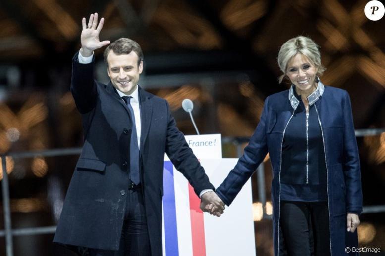 Brigitte et Emmanuel Macron : une histoire d`amour... et de style !
