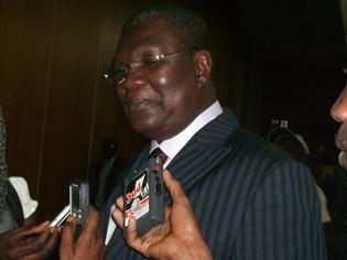 Ousmane Ngom, ministre des Mines, de l' Industrie et des PME