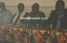 Les responsables syndicaux de la Sonatel dont le représentant des travailleurs au Conseil d'administration, Ibrahima Konté