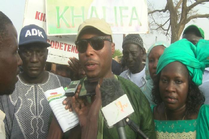 Diourbel : Barthélemy Diaz initie une marche pour la libération de Khalifa Sall et essuie des tirs de grenades lacrymogènes