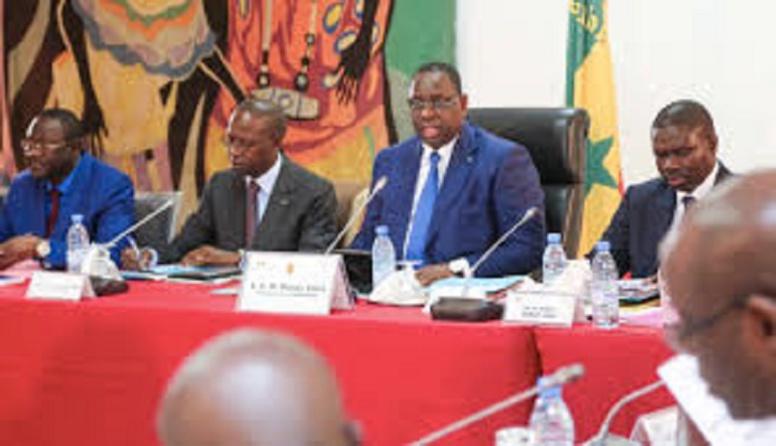 Conseil des ministres: quand Macky disserte sur la loyauté et parle du départ de Thierno Alassane Sall