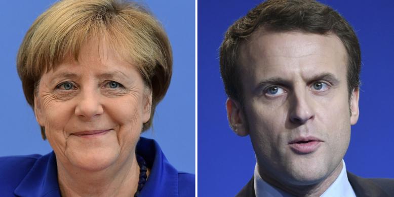 Angela Merkel recevra le nouveau président français Emmanuel Macron lundi à Berlin