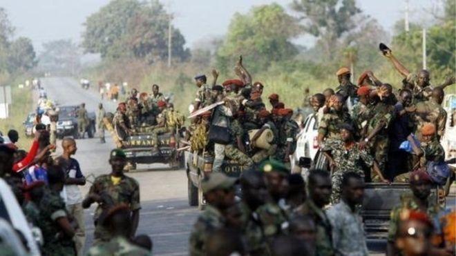 Des tirs à Abidjan et Bouaké