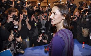 Ségolène Royal qui fait l'actualité en France