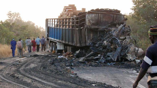 Burkina : 18 morts dans un accident