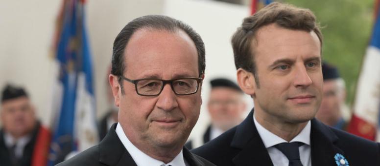 Suivre en direct la Passation de pouvoir entre Emmanuel Macron et François Hollande