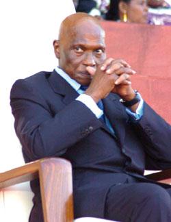 Abdoulaye Wade, Président de la République du Sénégal (Photo:dekkbi.com)