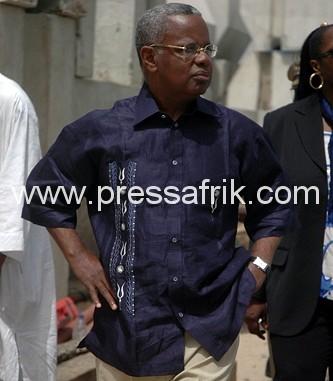 Le secrétaire général de l'URD et ministre de l'environnement, Djibo L. KA