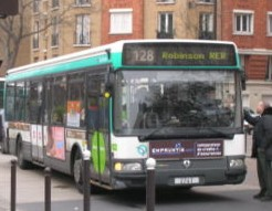 Le bus 128 (photo: nationspresse.info)