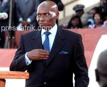 Le chef de l'Etat, Abdoulaye Wade