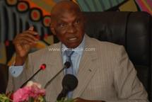 Le chef de l'Etat du Sénégal, Me Abdoulaye Wade