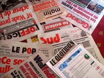 Des quotidiens d'informations sénégalais (Photos:blogsimages.skynet.be)