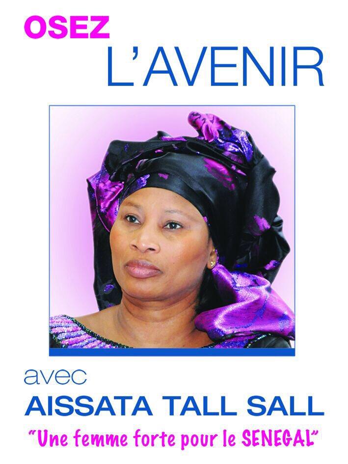 Aissata Tall Sall lance « Osez l'avenir » et demande à Tanor et Cie de prendre leurs responsabilités