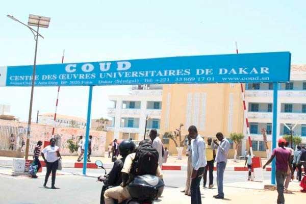  UCAD de Dakar : Le COUD interdit toute manifestation politique dans le campus
