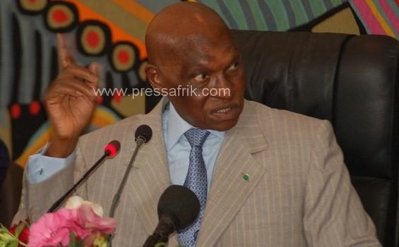 Président Abdoulaye Wade, Sénégal