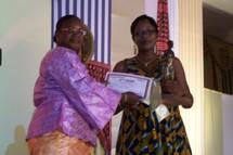 Assettou Badoh, lauréat du prix spécial du ministère en charge de l'éducation.