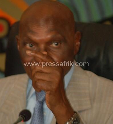 Le chef de l'Etat sénégalais, Abdoulaye Wade