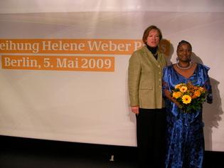 """Mme Irmingard Schewe-Gerigk, député au parlement (Bundestag)""""Les Verts"""""""