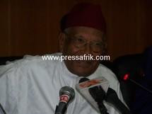 Le président des assises nationales, Amadou Mahtar Mbow