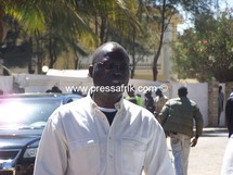Le maire de Dakar, Khalifa A. Sall