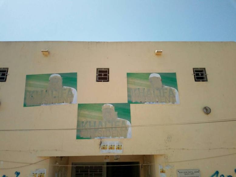 Grand-Yoff: des malfaiteurs dégradent les murs, les bâches et le portail de la permanence Pape Babacar Mbaye