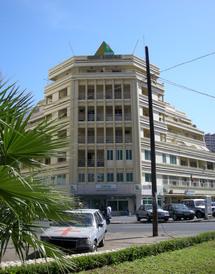 Le siège de la CNCASen plein centre ville à Dakar (Photo: upload.wikimedia.org)