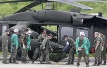 Les corps ont transité par la base de Fernando de Noronha, avant d'arriver à Recife. (Photo: Reuters)