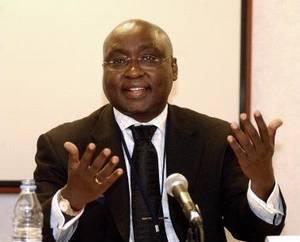 Le Président de la Banque africaine de développement, Donald Kaberuka