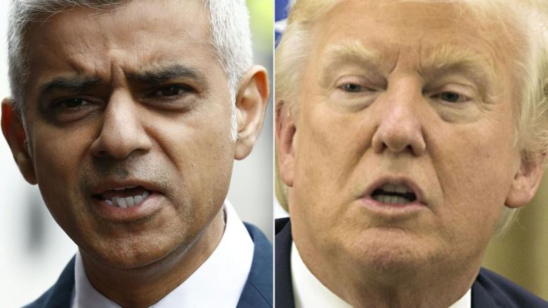 Trump provoque à nouveau le maire de Londres sur Twitter