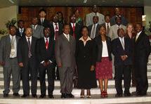 Le staff du NEPAD qui s'occupe du développement de l'agriculture