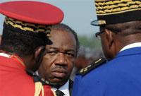 Le ministre gabonais de la Défense Ali Ben Bongo aux obsèques de son père à Libreville, le 16 juin 2009. (Photo : AFP)