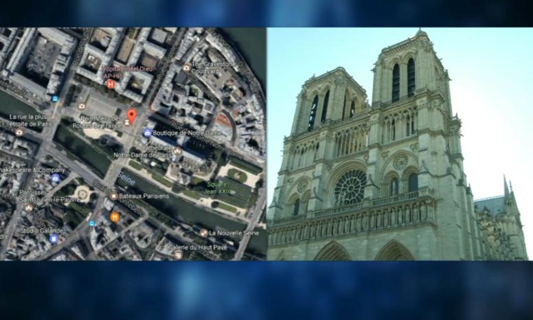 Attaque dans le quartier Notre Dame de Paris