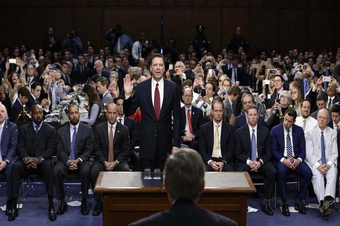 Audition de James Comey au Sénat: le grand déballage