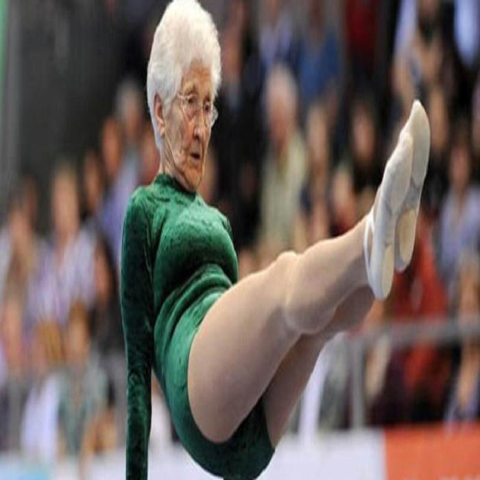 A 92 ans, la gymnaste Johanna Quaas finit 5ème au Turnfest de Berlin
