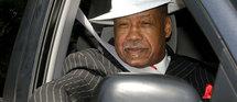 Le père de la star défunte, Jo Jackson, le 28 juin à Los Angeles © MAXPPP