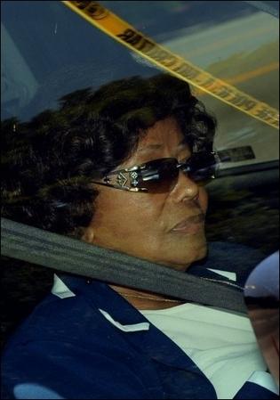 La mère de Michael Jackson, Katherine Jackson, à Los Angeles le 28 juin 2009 (Photo: AFP)
