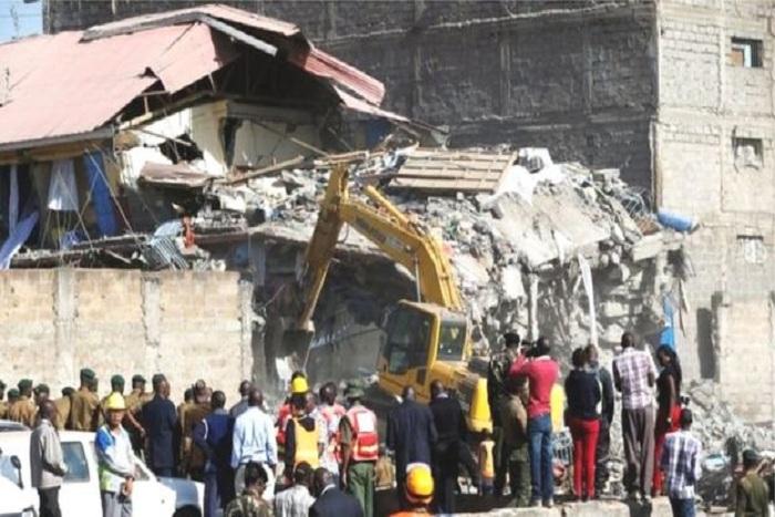Kenya: 15 portés disparus après l'effondrement d'un immeuble
