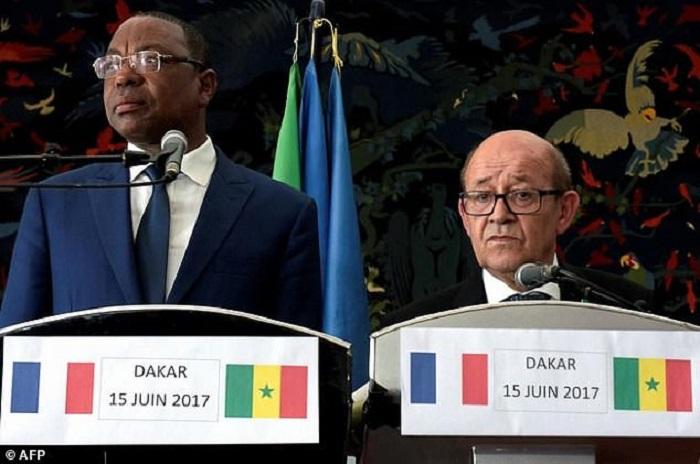 Jean-Yves Le Drian : «Les investissements français ont créé  15 000 emplois… »