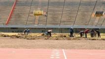 La pelouse du stade Senghor à l'agonie: un sabotage programmé