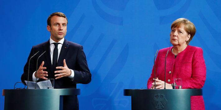 Le président Macron déclare que la France va accueillir les réfugiés, les internautes français disent niet