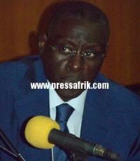 Le président de la CNES, Mansour Kama