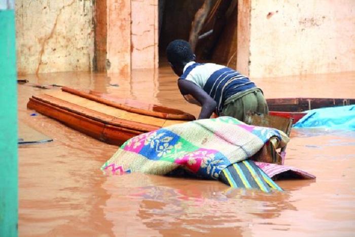 Diack (Thiès) Une centaine de concessions envahies par les eaux de pluie