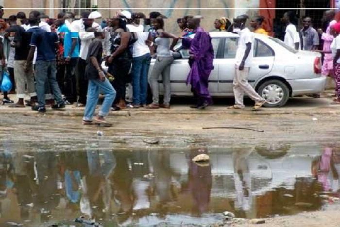 Saint-Louis : 32 millimètres de pluie inondent la ville