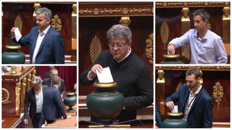 """Jour 1 de la 15e législature en France : La révolution """"sans cravate"""" des Insoumis a marqué les internautes"""